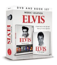 ELVIS DVD and Book Set